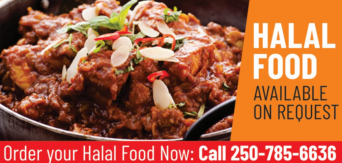 HALAL FOOD AVAILABLE ON REQUEST - Indian Essence Bistro