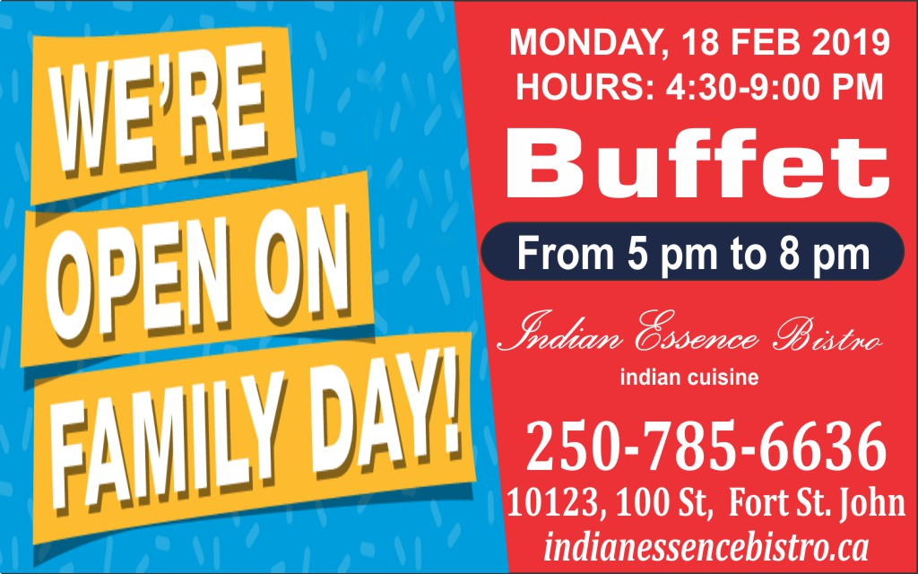 We are open this Family Day