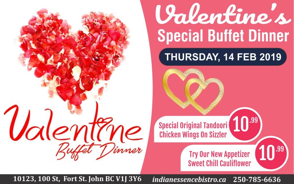 Valentine's Buffet Dinner